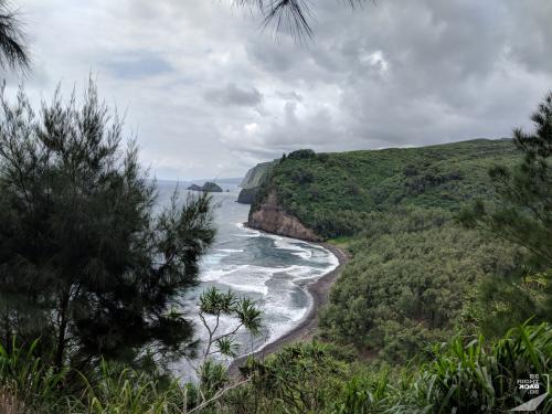 Aussicht auf den Pololo Trail