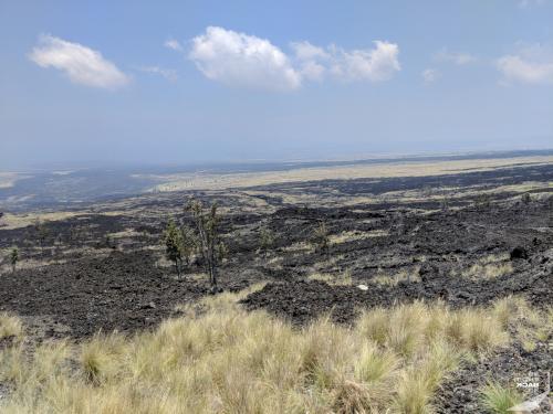 Lava Wüste auf Big Island