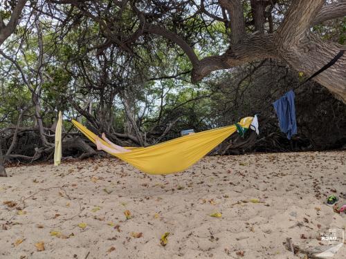 Chillen am Mahai'ula Beach