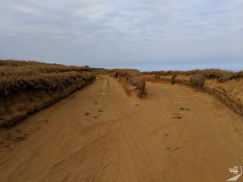 Trail zum Green Sand Beach