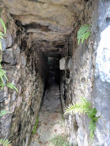 Martinique - Château Dubuc Durchgang