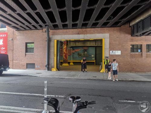 High Line Eingang