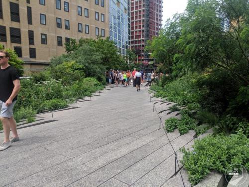 High Line Weg