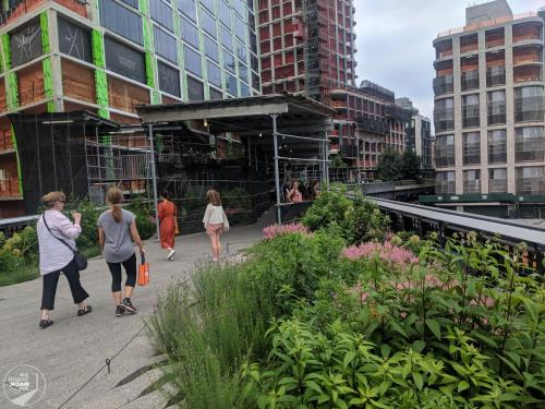 High Line Spaziergang