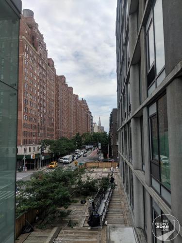Blick Durch Die New Yorker Schluchten