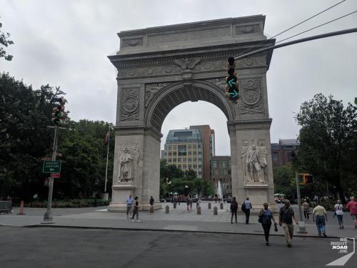 Eingang Washington Square