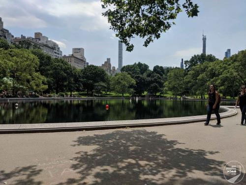 New York - Central Park Brunnen