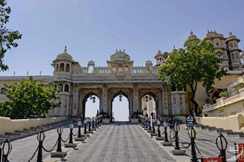 Udaipur City Palace Tor