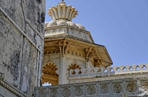 UdaipurCity Palace Turm