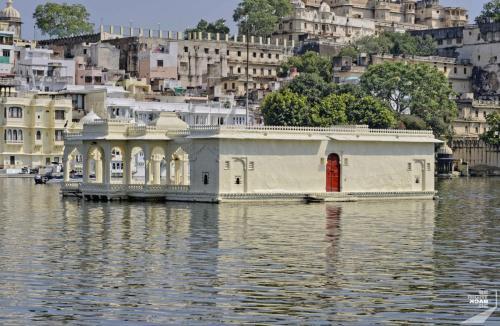 Udaipur Lake Palace Tür