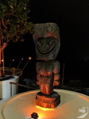 Tiki Statue in Kona