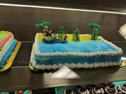 Cake in Hawaii