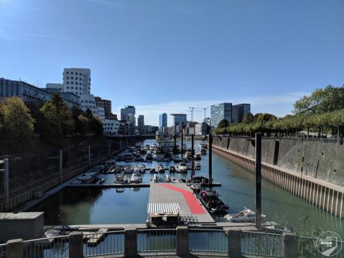 Hafen am Medienhafen