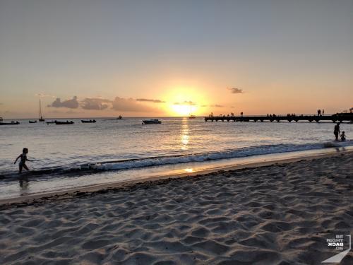 Martinique - Schoelcher Sonnenuntergang
