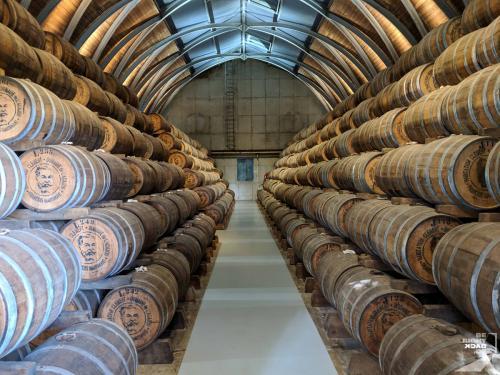 Martinique - Habitation Clément Rum Reifung