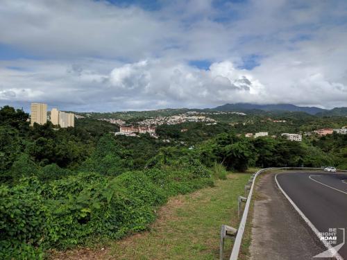 Martinique - Running Towards Schoelcher