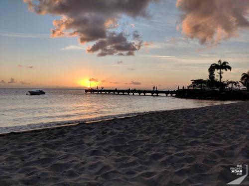 Martinique - Beach Sundown