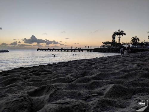 Martinique - Schoelcher Evening At The Beach