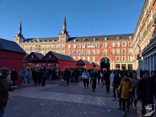 Silvestermarkt in Madrid