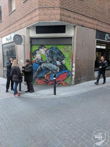 Madrid - Eine warme Seite