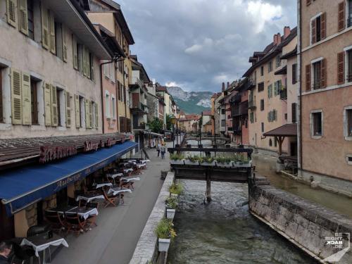 Annecy - Innenstadtfluss