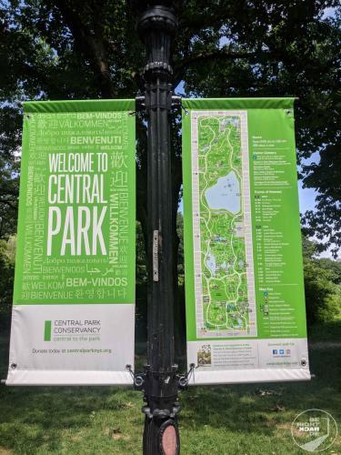 Central Park Banner