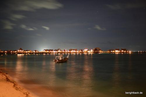 Pulau Mabul Nacht Schiffe