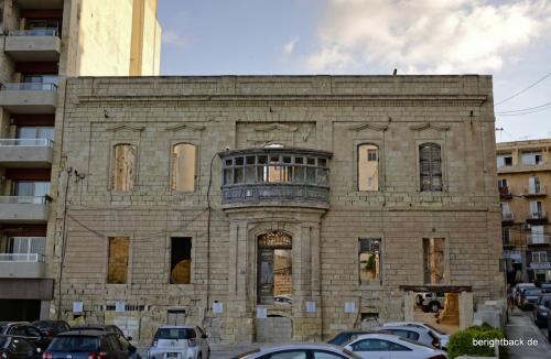 Malta Fassadenreste in Sliema
