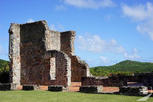 Martinique - Château Dubuc Ruinen