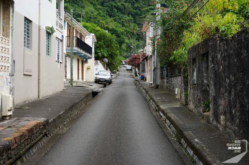 Martinique - St Pierre Nebenstraße