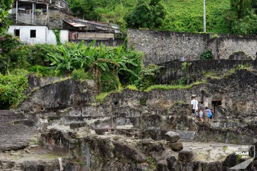Martinique - St Pierre Ruinen