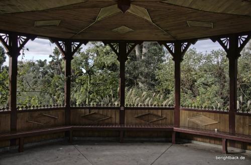 Pagode im Botanischen Garten Melbourne