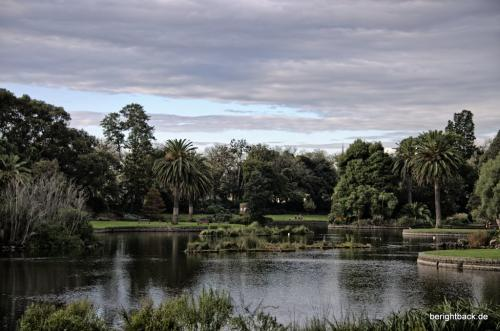 See im Botanischen Garten Melbourne