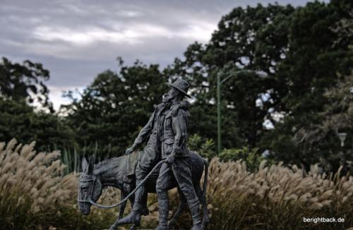 Melbourne Statue zum Weltkrieg