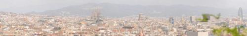 Vom Montjuic über Barcelona