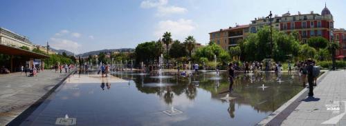 Nizza Brunnen