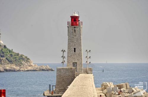 Leuchtturm in Nizza