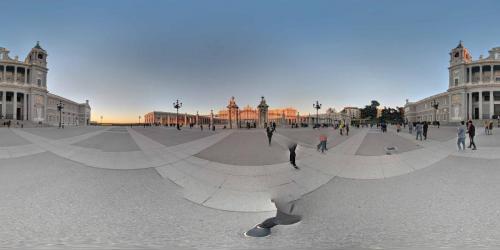 Schlossplatz Madrid