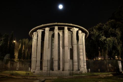 Tempel Der Vesta