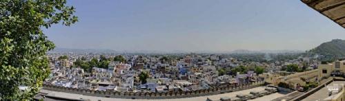 Udaipur City Palace Aussicht