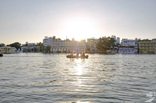 Udaipur Hochzeitsboot