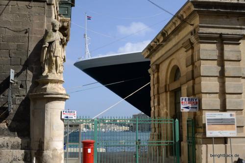 Malta Bug des Kreuzfahrtschiffes