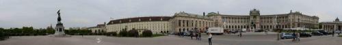 Wiener Heldenplatz Panorama