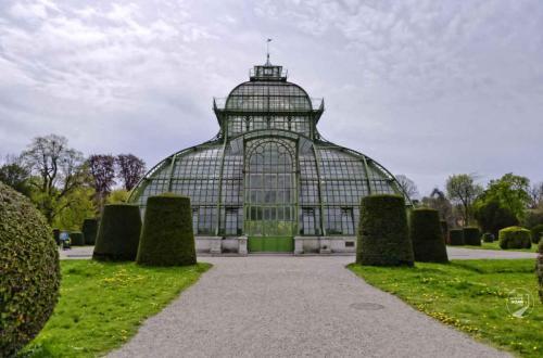 Wien Schönbrunn Palmenhaus Front