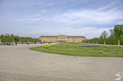 Wien Schoenbrunn Von Hinten