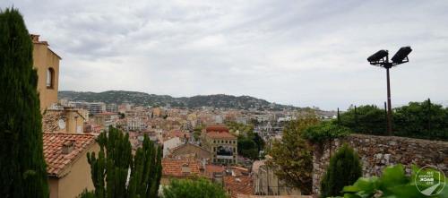 Cannes Dächer Der Stadt