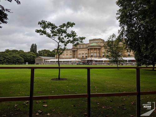 London - Buckingham Palace Garten
