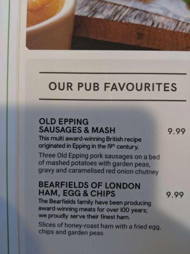 London - Pub Card