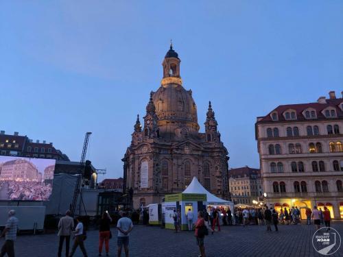 Dresden - Konzert an der Frauenkirche