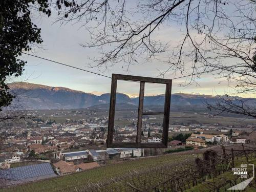 Fenster nach Südtirol